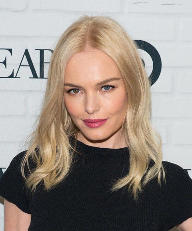La guapa actriz también tiene muy marcado la heterocromia.