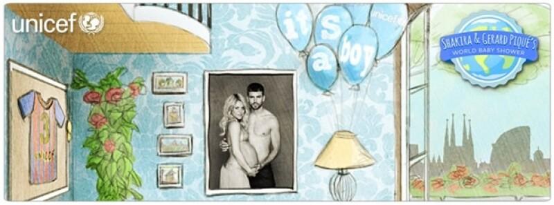 Los felices papás compartieron en sus páginas oficiales un pequeño comunicado dando la noticia del nacimiento y explicando por qué le pusieron Milan a su bebé.
