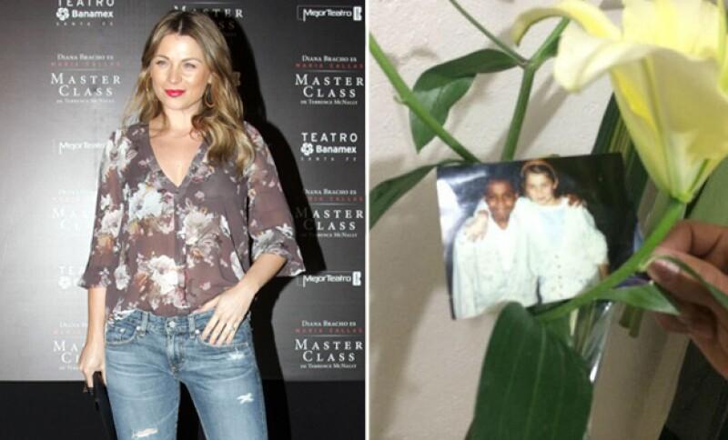 Cirilo de la telenovela le dejó unas flores en su camerino el año pasado, y es que la novela tuvo un especial significado para quienes la escenificaron.