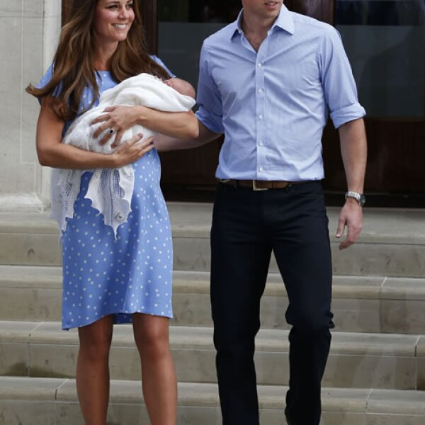 El primogénito nació el 22 de julio en el hospital St. Mary´s de Paddington.
