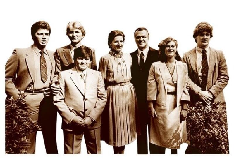 El legado familia de Miguel De la Madrid.