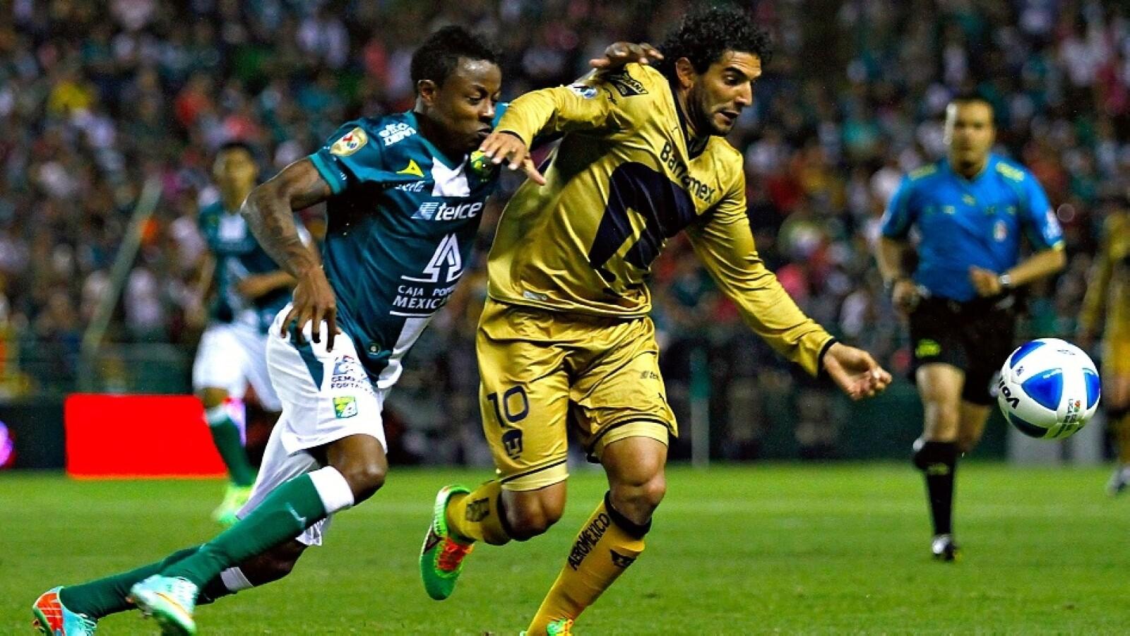 Martín Bravo fue un dolor de cabeza para el campeón León