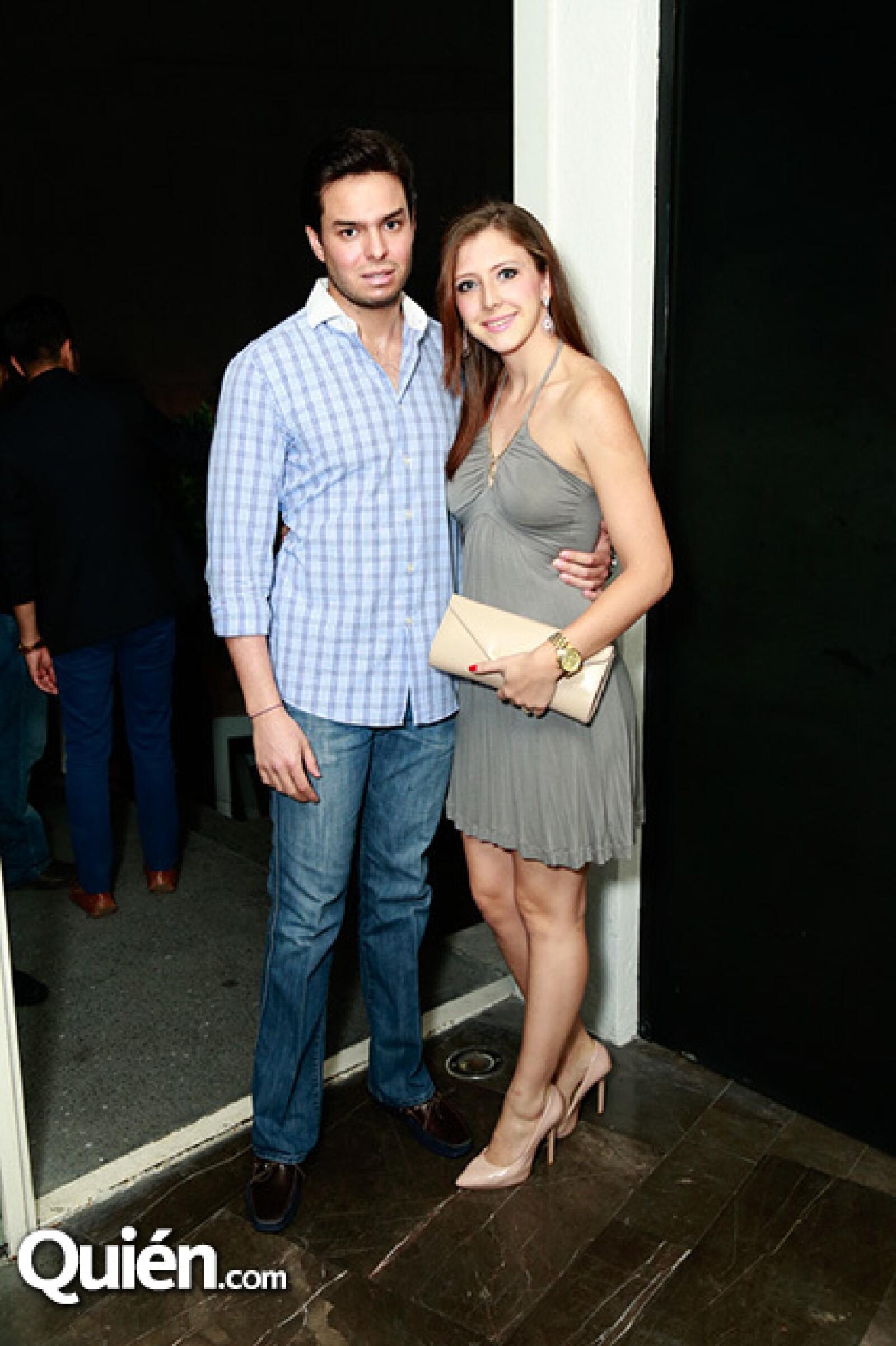 Francisco Cue y Susana Bonada