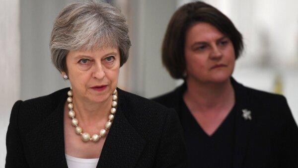 May defiende su plan para el 'Brexit'