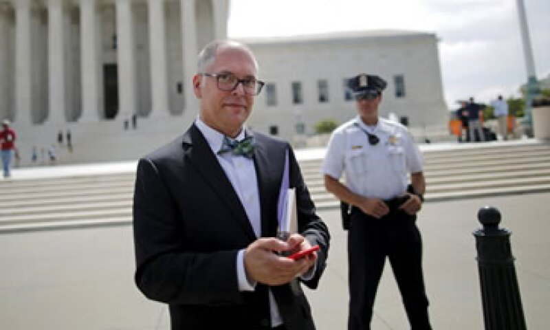 Jim Obergefell demandó para que Ohio lo reconociera como esposo del fallecido John Arthur (Foto: Reuters )