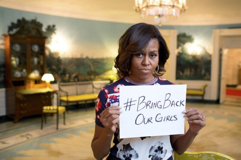Han sido muchos los que se han unido al hashtag, sobre todo la primera dama estadounidense quien fue una de las pioneras con el mensaje.