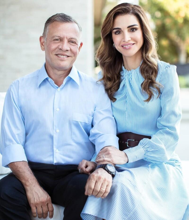 Abdullah II y Rania de Jordania