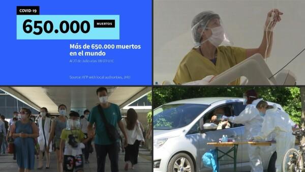 América Latina es la región con más contagios por covid-19