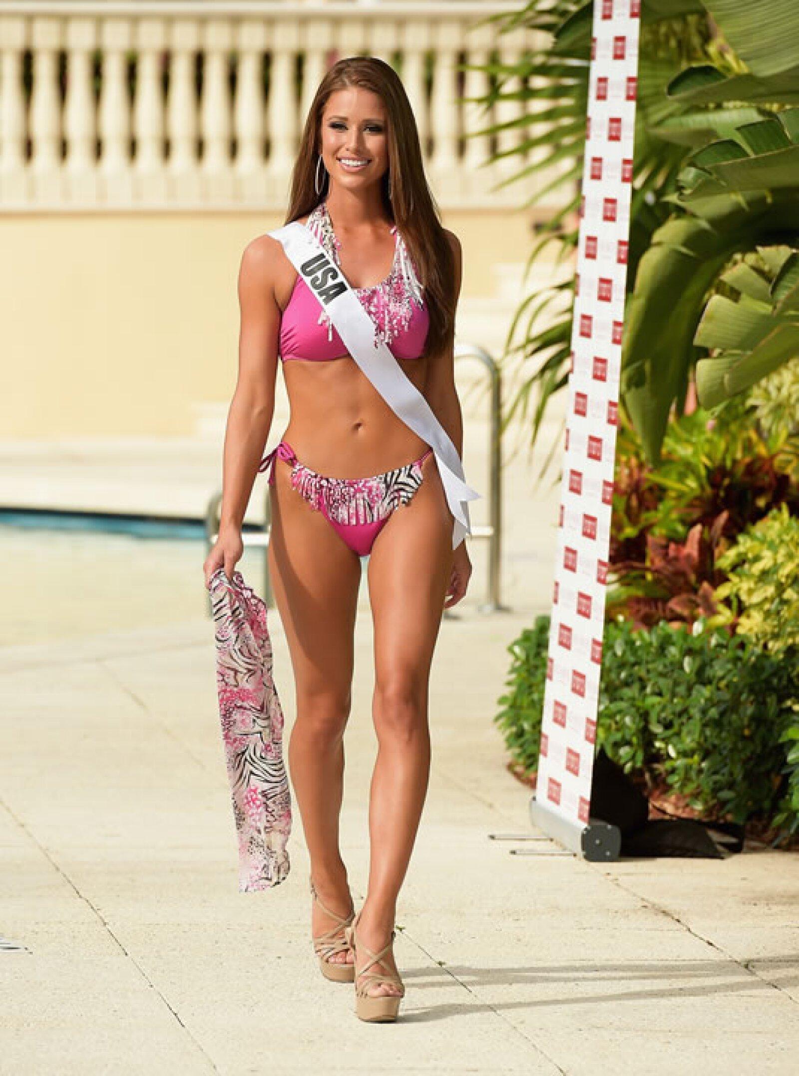 Quien compite de Estados Unidos es Nia Sanchez.