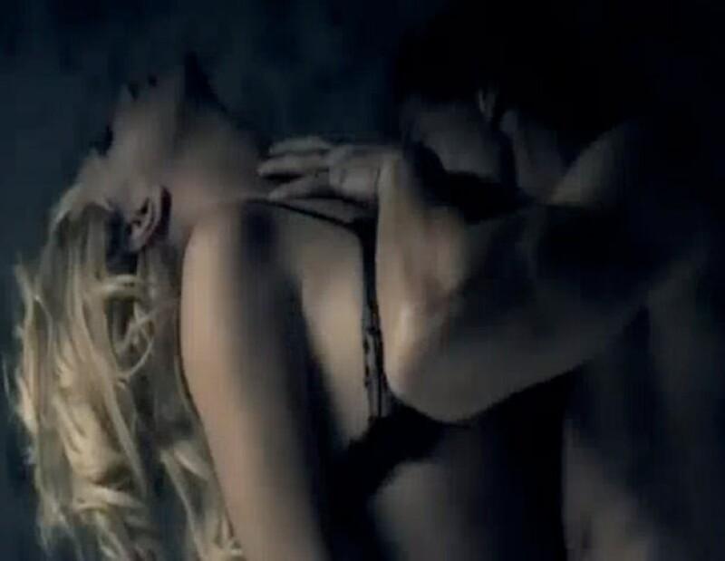 Britney realizó escenas muy eróticas.