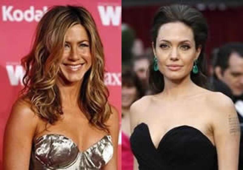 Jennifer Aniston y Angelina Jolie las más ganadoras de Hollywood. (Foto: Reuters)