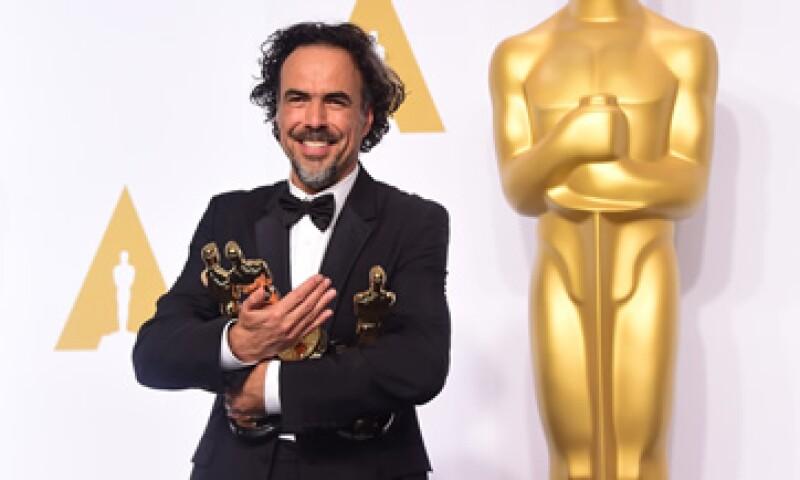 Alejandro González Iñárritu ganó el Oscar en 2015 como Mejor Director. (Foto: AFP)
