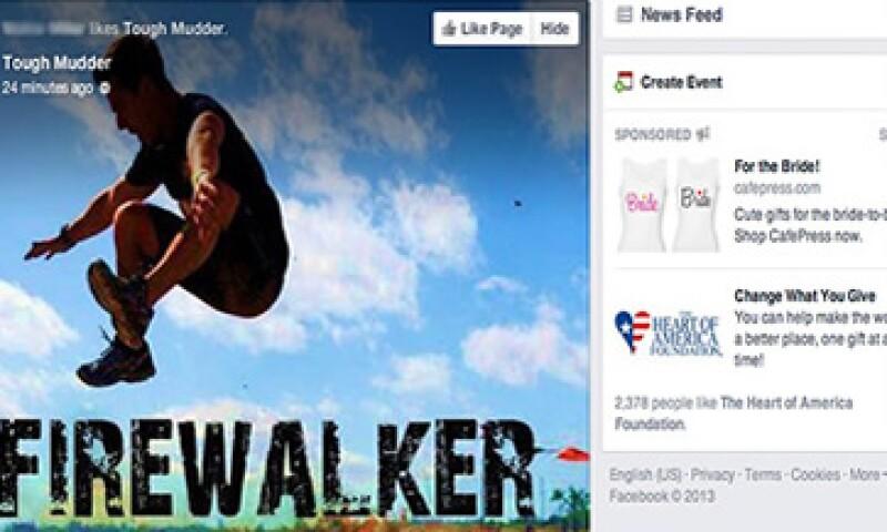 El nuevo diseño de News Feed ahora ocupa una mayor parte en la pantalla.   (Foto tomada de cnnmoney.com)