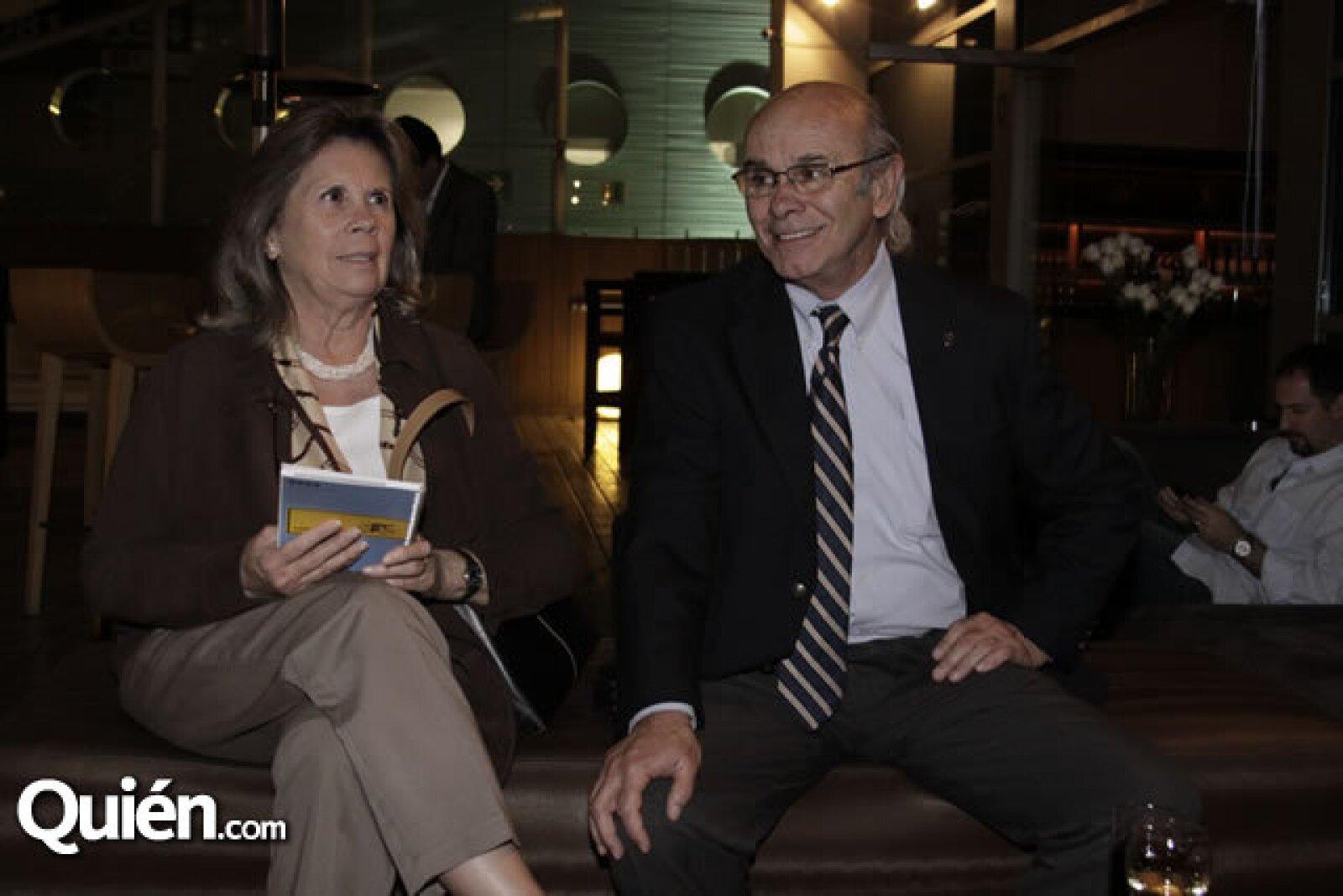 Patricia Soto y Gabriel Zorrilla