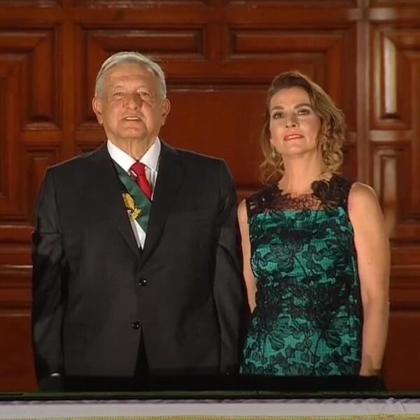 Andrés Manuel López Obrador y Beatriz Gutiérrez Müller