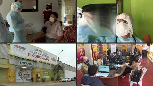 Este centro nocturno se convirtió en centro médico para combatir la epidemia