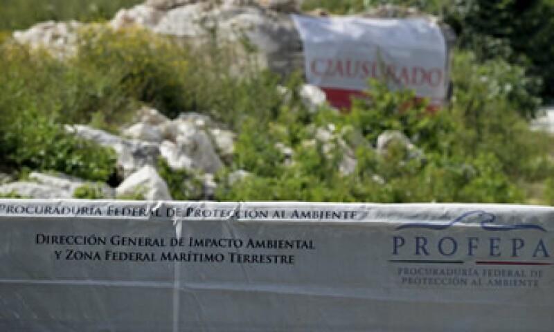 Para la Profepa los responsables del proyecto infringieron la normatividad administrativa ambiental vigente. (Foto: Cuartoscuro )