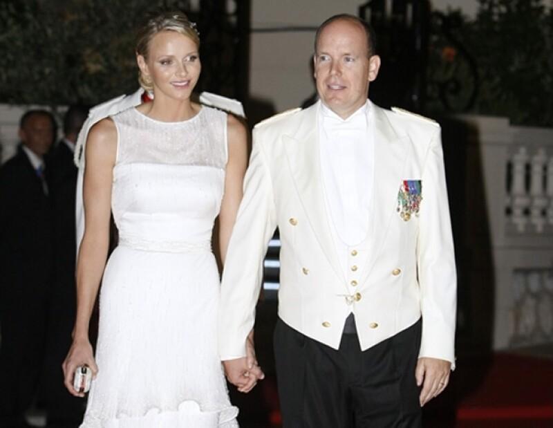 El Príncipe Alberto se casó a los 53 años con la exnadadora Cherlene Wittstock.