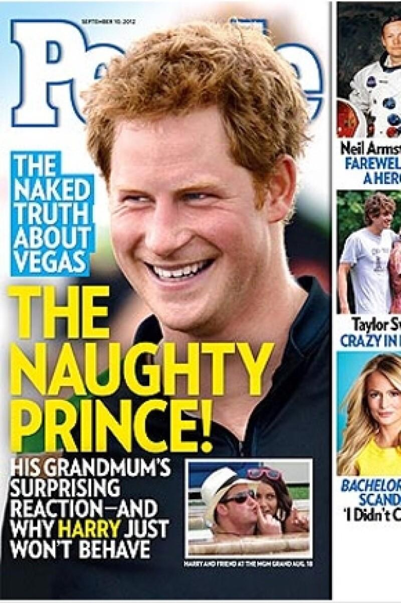 Fuentes cercanas al tercer heredero de la corona afirman a la revista People que no hizo nada malo en Las Vegas.