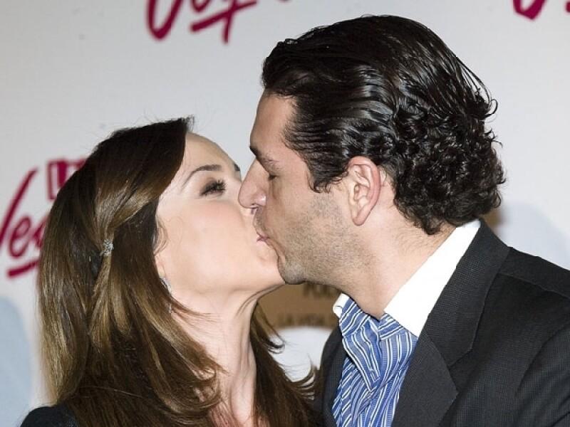 La bella actriz ha asegurado que Martín Fuentes es el amor de su vida.