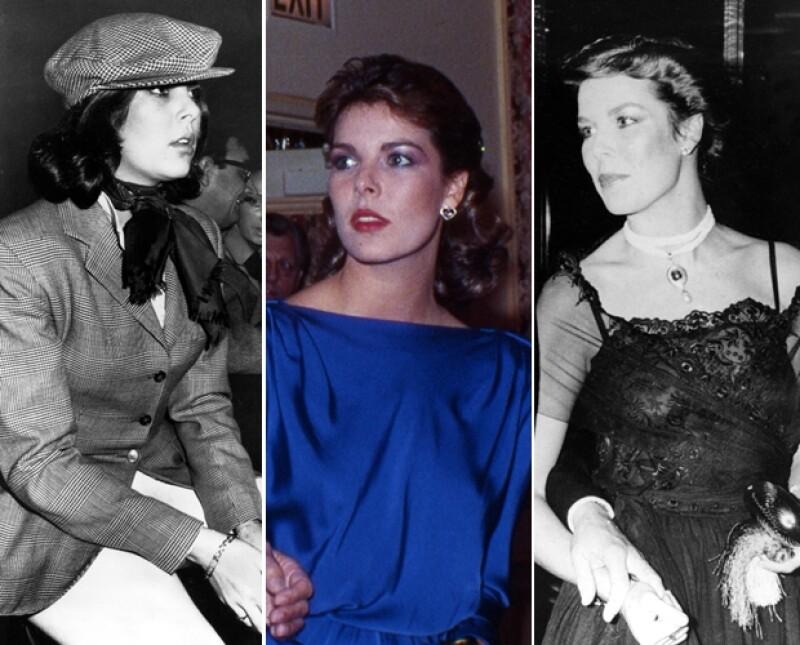 Desde joven se notaba el gusto de Carolina por la moda.