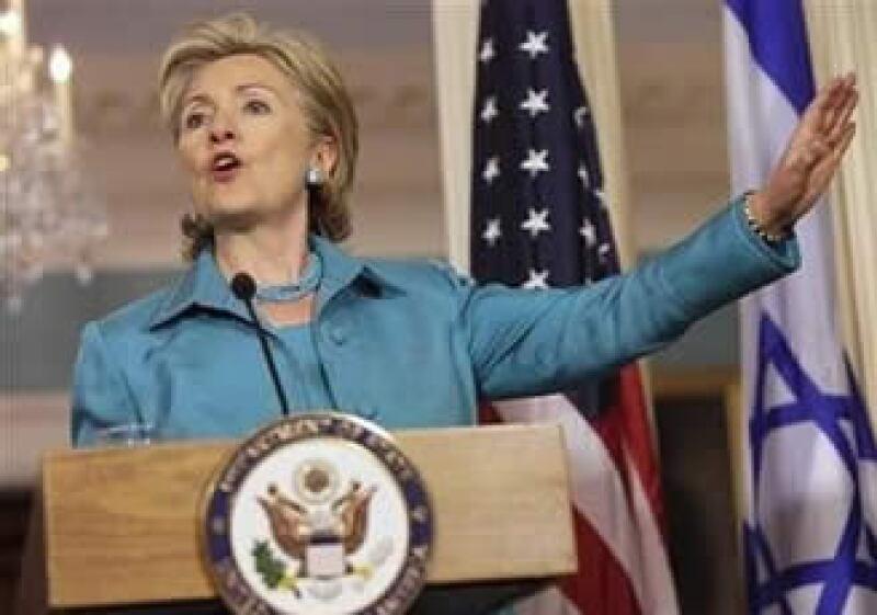 Hillary Clinton habló en Washington sobre el conflicto político en Honduras. (Foto: Reuters)