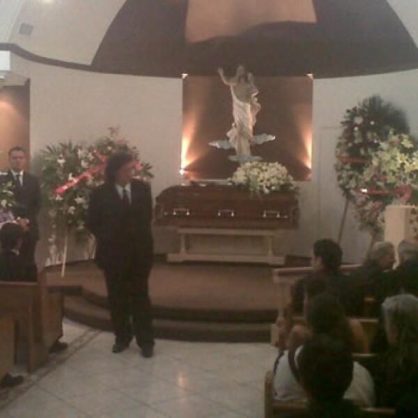 funeral de María Elvia Amaya