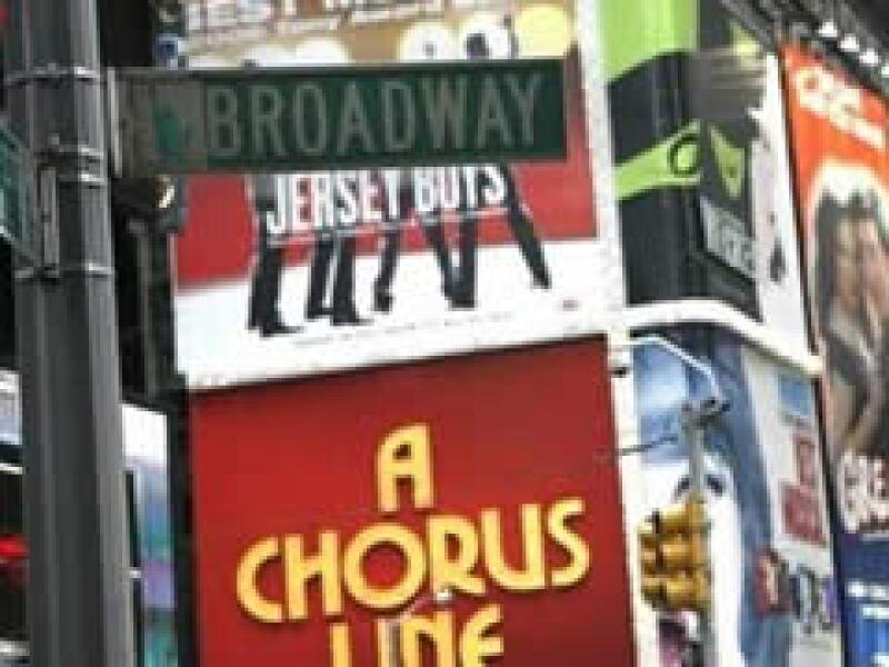 Broadway recaudó 943.3 millones de dólares por sus espectáculos en la temporada 2008-2009. (Foto: Archivo)
