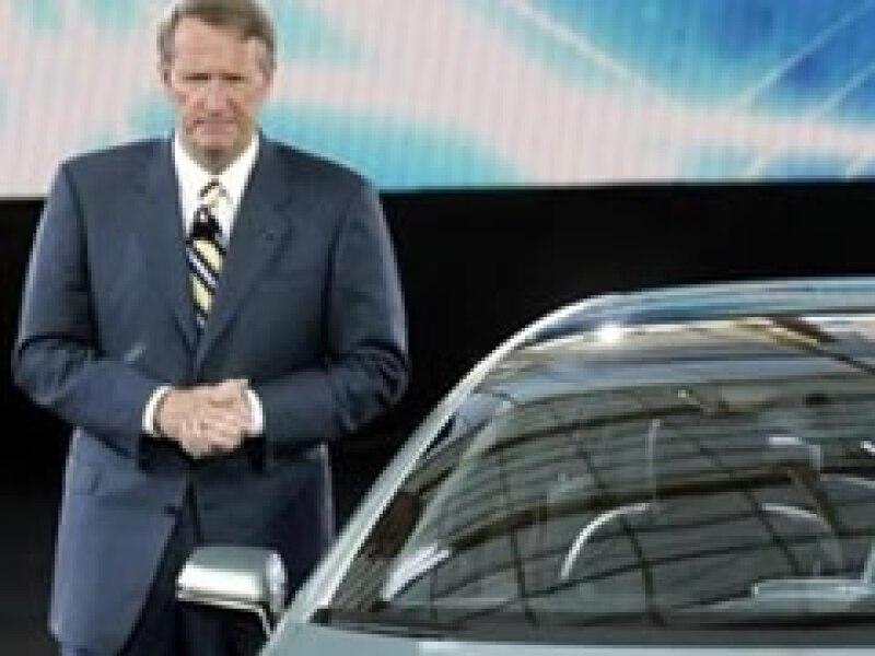 Rick Wagoner dejará su cargo al frente de GM. (Foto: Archivo)