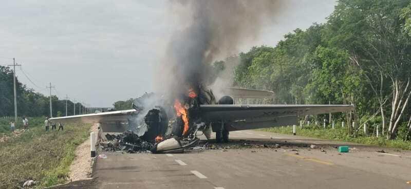 Aeronave interceptada en QRoo