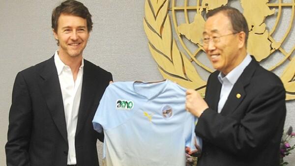 El actor estadunidense fue nombrado Embajador de Buena Voluntad de la Organización de Naciones Unidas para la protección de la Biodiversidad.