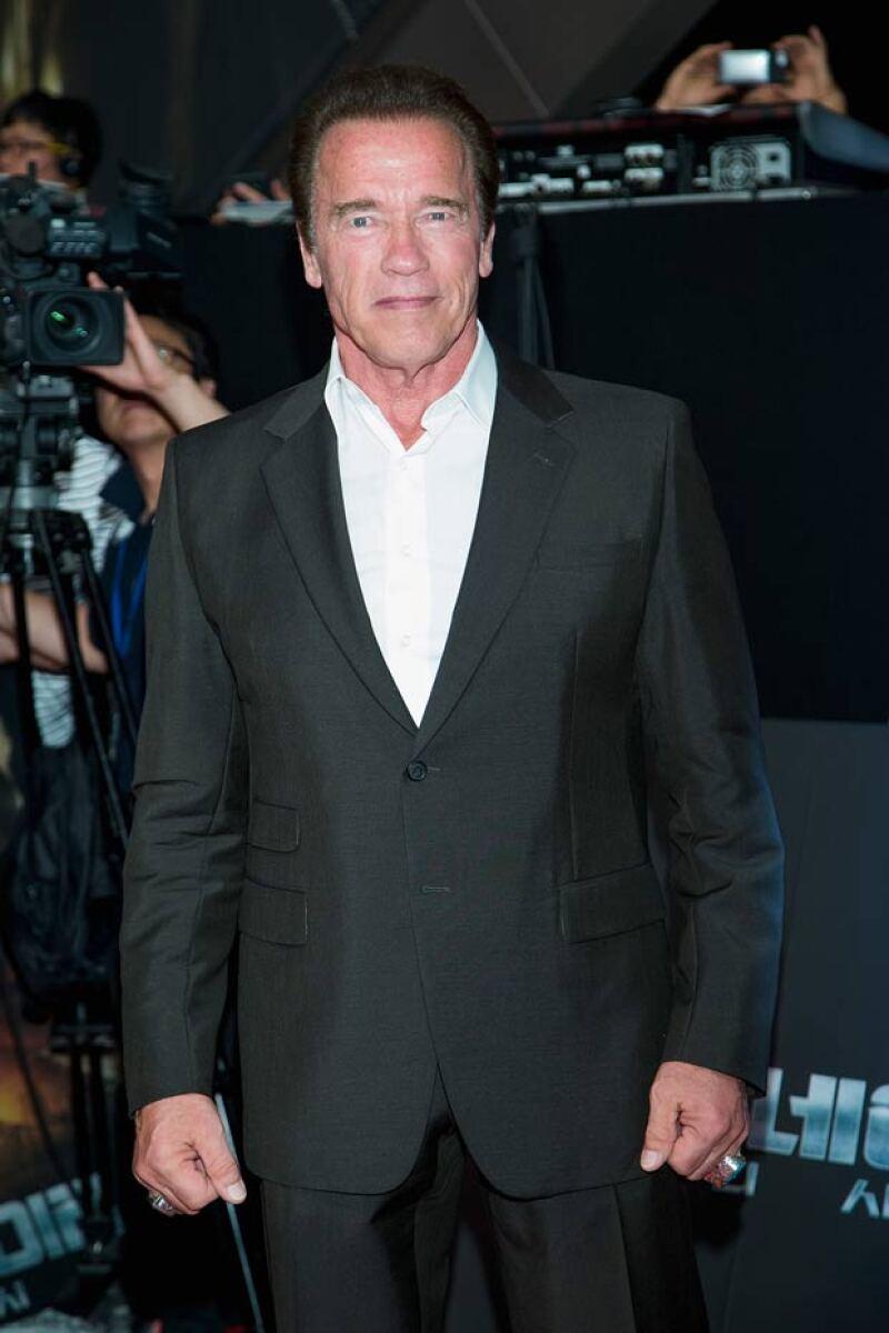 Arnold causó sensación tras la noticia de que su amante había tenido un hijo al mismo tiempo que su esposa.