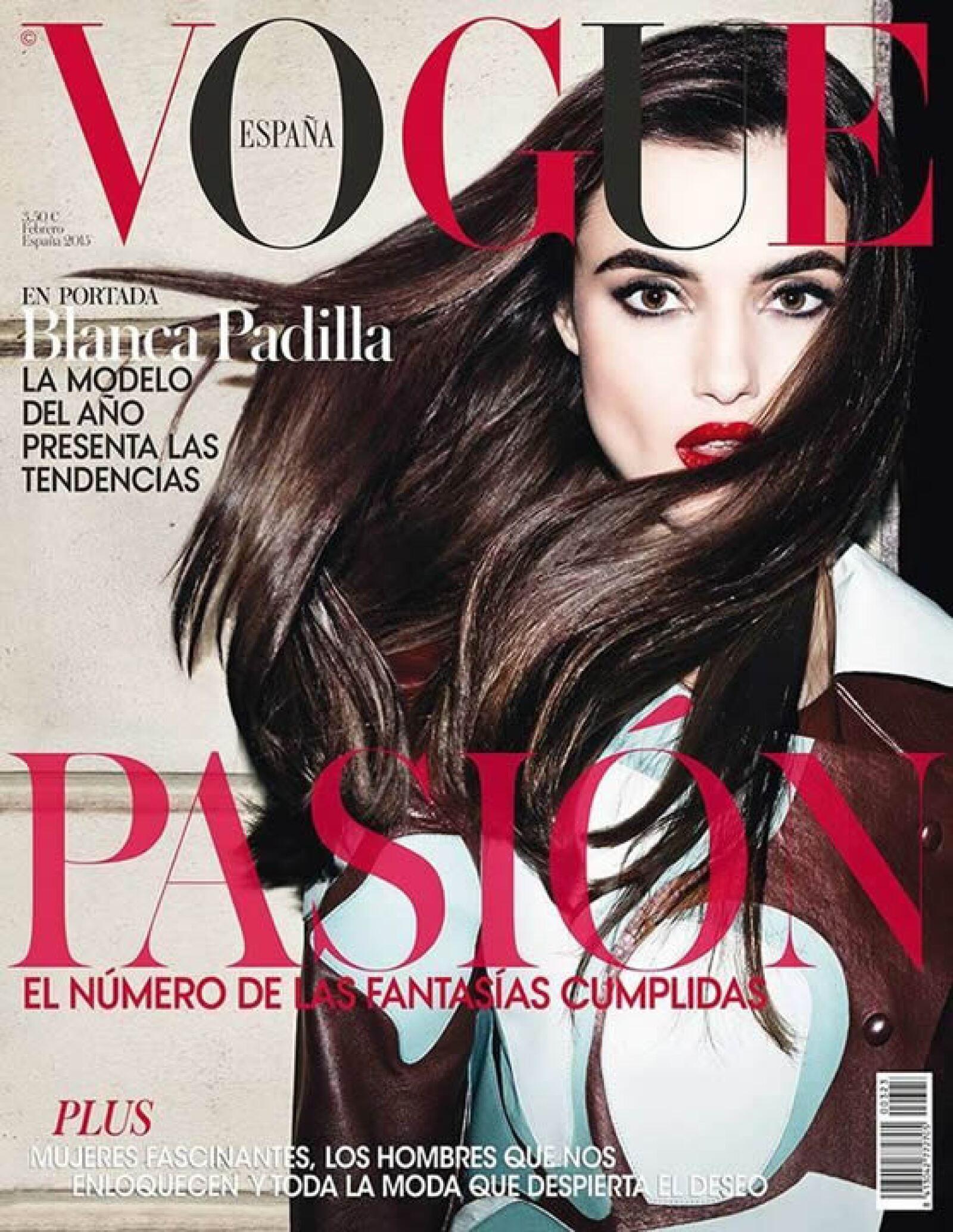 El fotógrafo Matt Erwin retrata a Blanca Padilla para la portada de Vogue España.