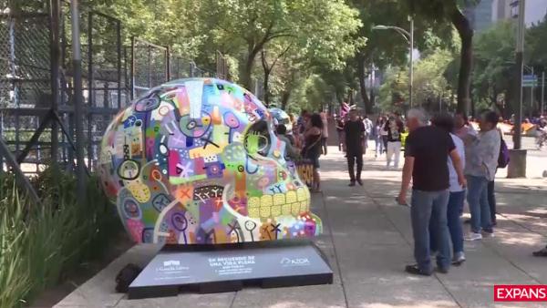 Un paseo por Mexicraneos, la exposición en CDMX para celebrar a los muertos
