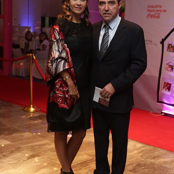 Adriana Reyes y Alejandro González