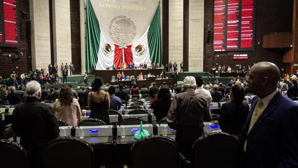 Inicia sesión ordinaria en Cámara de Diputados