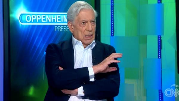 Mario Vargas Llosa dice lo que cree que pasaría en México si gana AMLO