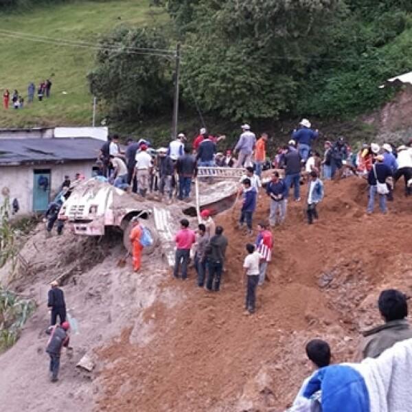 veracruz, desastre, lluvia, mexico