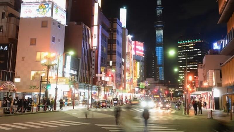 Panoramica de Tokio
