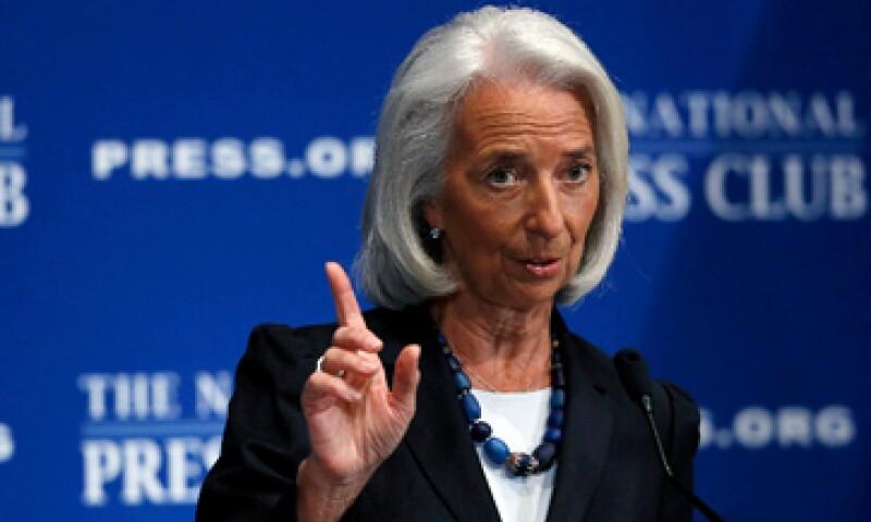 Lagarde dijo que el FMI espera que el crecimiento global repunte este 2014. (Foto: Reuters)