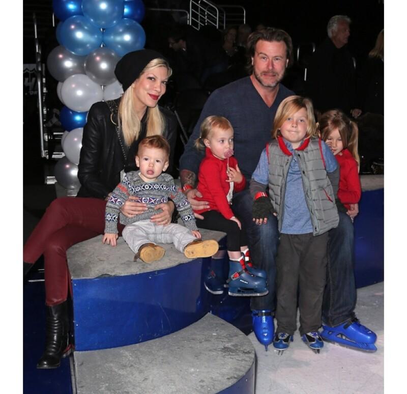 Tori y Dean formaban una linda familia antes de la infidelidad del canadiense.