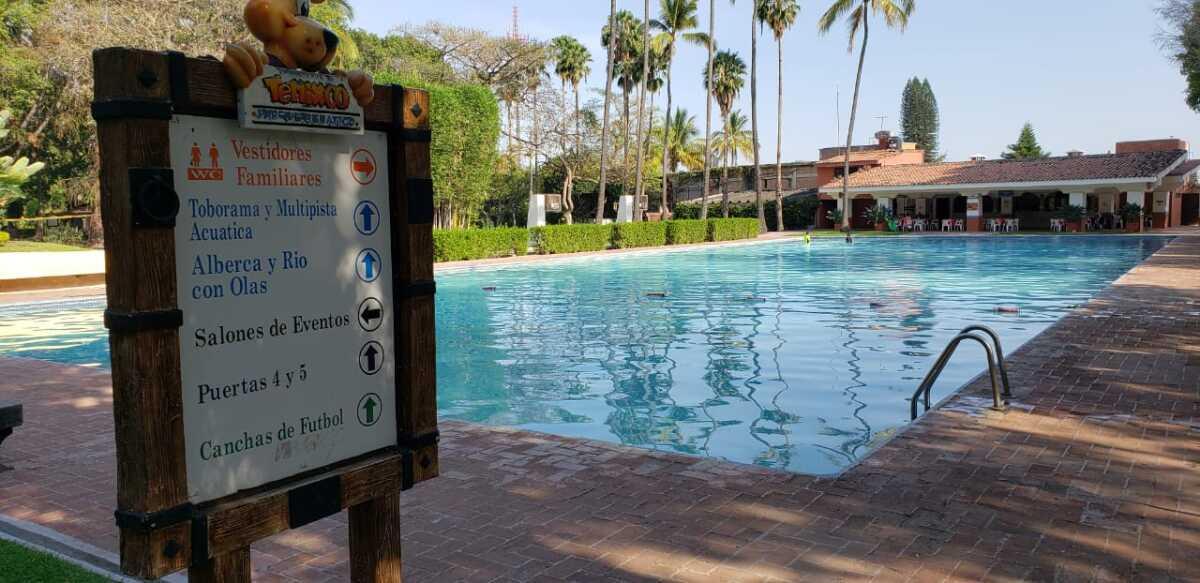 La contingencia por el coronavirus pega a los balnearios de Morelos