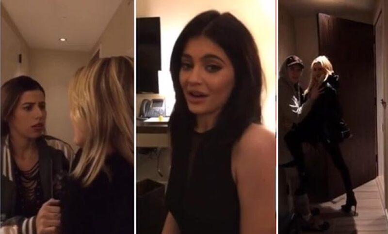 La estrella de TV aprovecha su tiempo libre en New York para juntar a Kendall, Kourtney, Caitlyn y Hailey Baldwin y crear una historia divertidísima en donde todas pelean por el amor de un hombre.