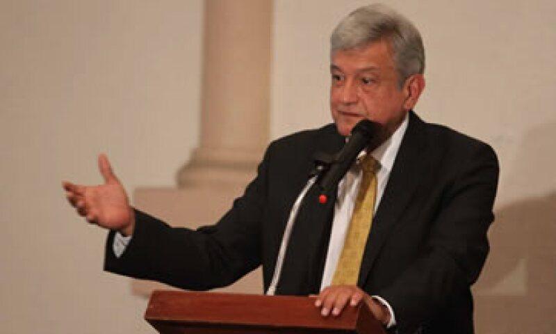 López Obrador alega que Enrique Peña, virtual presidente electo, rebasó el tope de gastos de campaña. (Foto: Notimex)