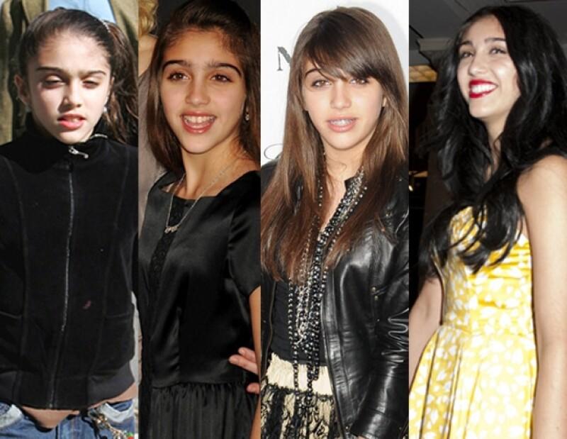 Con el paso del tiempo Lourdes se ha puesto mucho más hermosa.