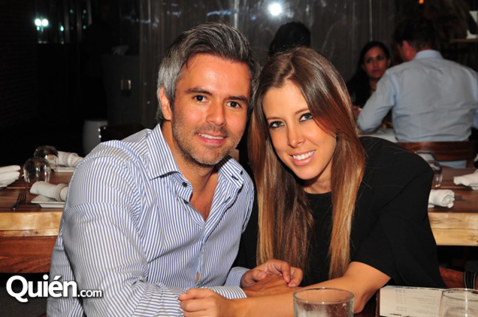 Enrique Barajas y Gaby Castillo