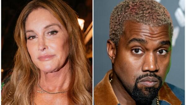 Caitlyn Jenner y Kanye West