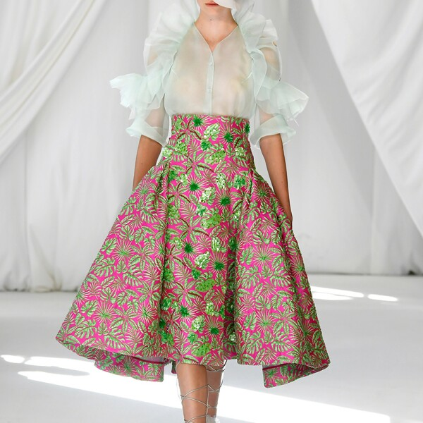Delpozo show, Runway, Spring Summer 2019, London Fashion Week, UK - 16 Sep 2018