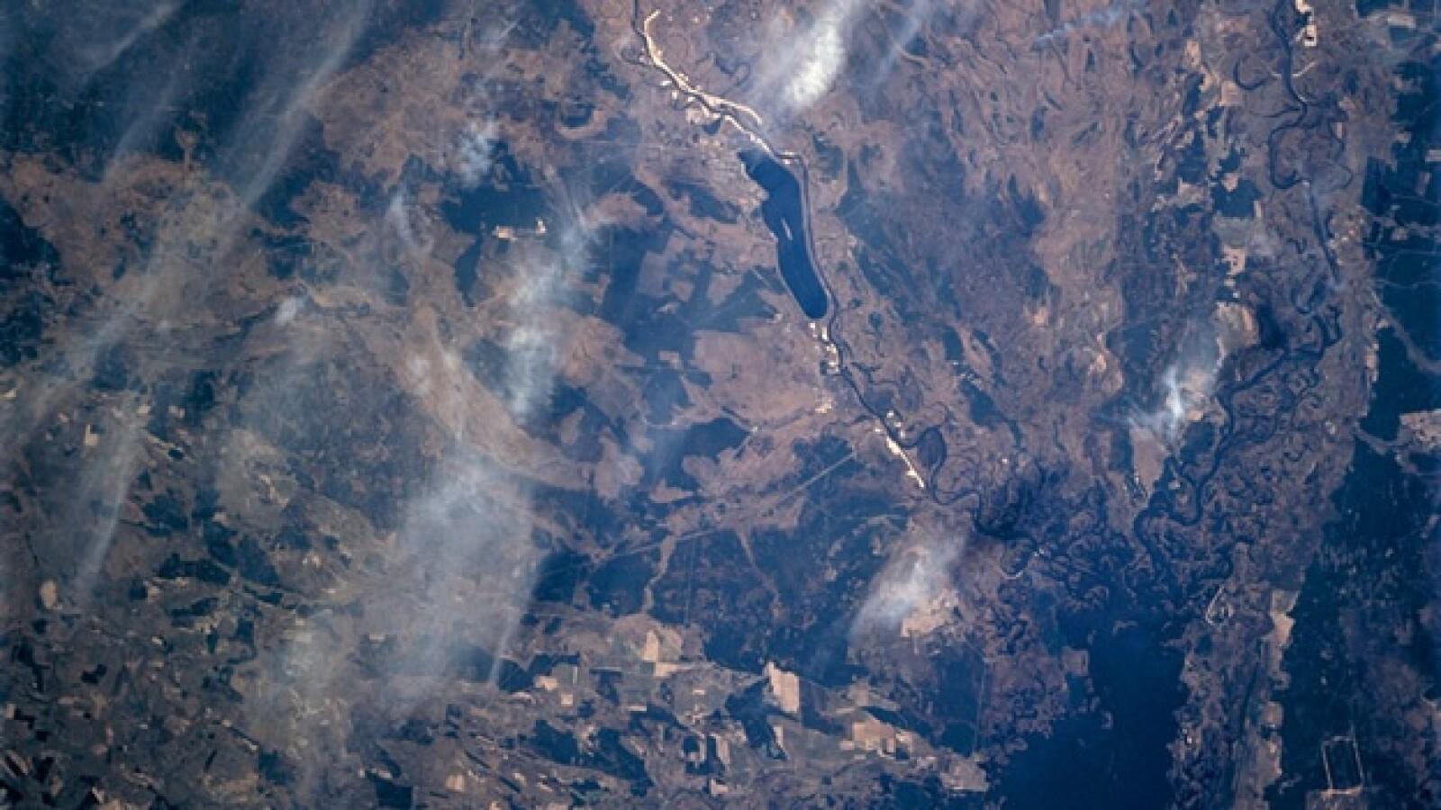 Chernóbil - vista aérea