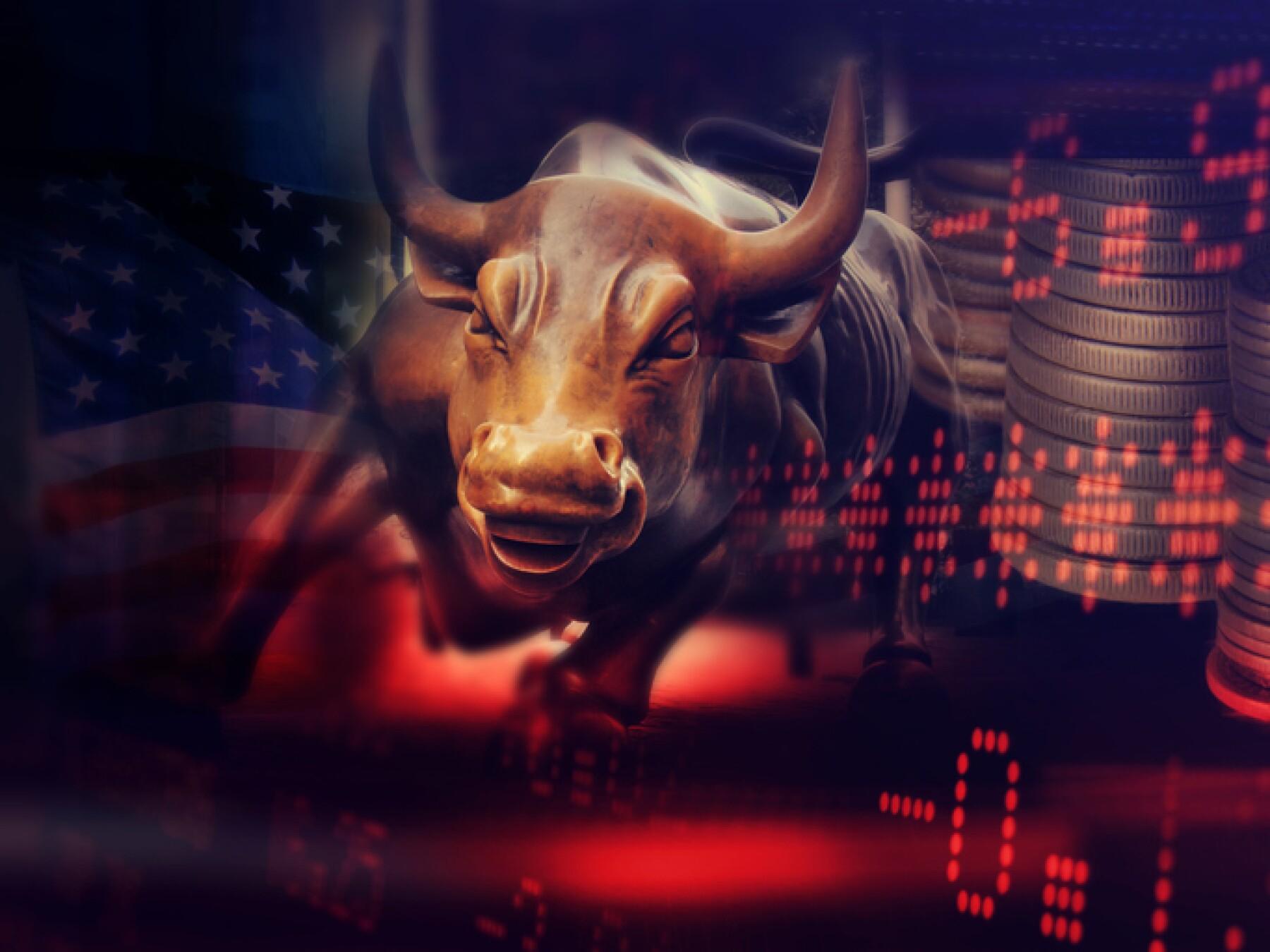 Stock market background, trade finances NYSE NASDAQ.